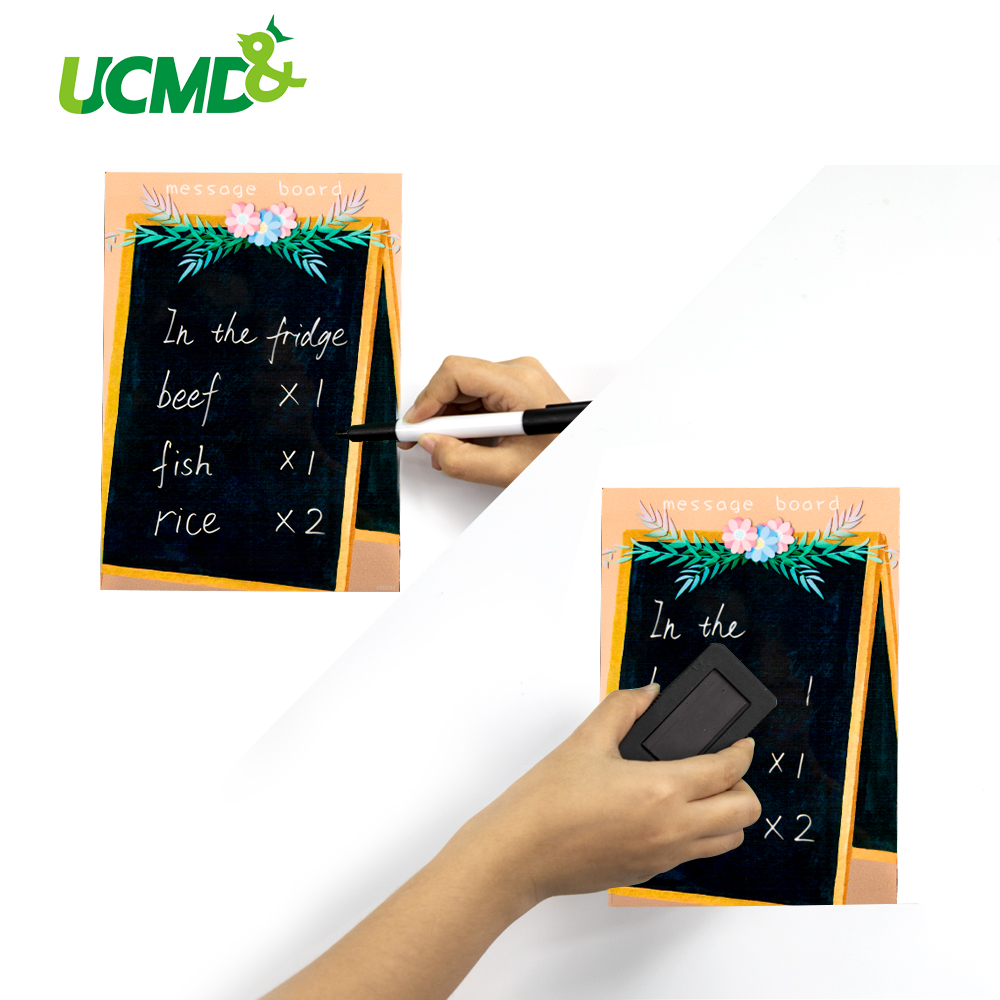 Magnetic Office Writing Message Schedule WhiteBoard A5 Fridge Refrigerator Memo Record Reminder Sticker Kids Painting Paper