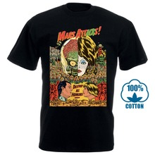 Mars Attack V17 Movie Poster T Shirt Black All Sizes S To 4Xl