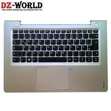Neue/orig Palmrest Ober Fall Deutsch Tastatur Touchpad für Lenovo Ideapad 510s-14IKB ISK 310S-14ISK IKB Laptop C Abdeckung 5CB0L45061