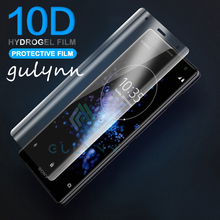 New 10D Soft TPU Hydrogel Film For Sony Xperia 1 10 10Plus XA2 XA1 XZ1 Ultra HD Screen Protector Full Cover (Not Tempered Glass)