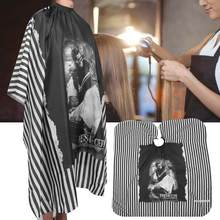 Wrap Professionele Haircut Cape Mode Kapsalon Kapper Schort Doek Tool Kappers Gereedschap Haarkleuring Accessoires(China)