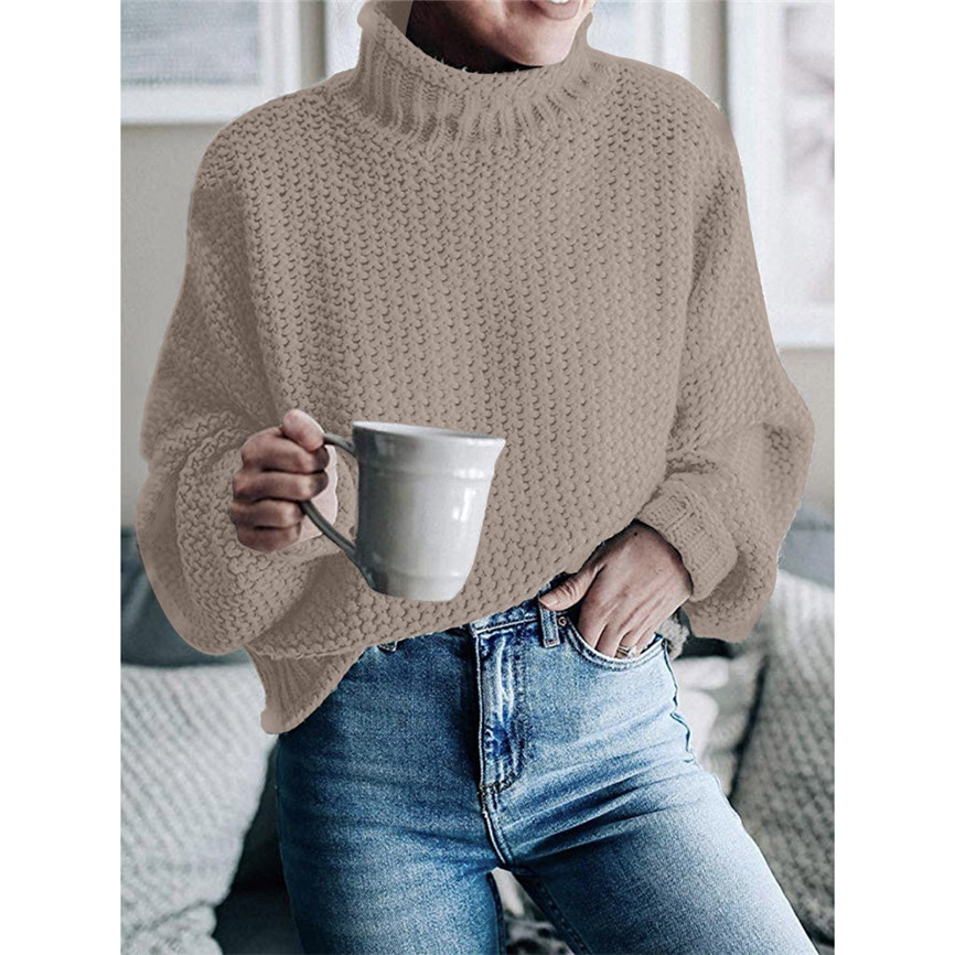 Sweaters For Women Womens Off The Shoulder Sweater Casual Knitted Loose Long Sleeve Pullover Hollow Out Womens Jumper