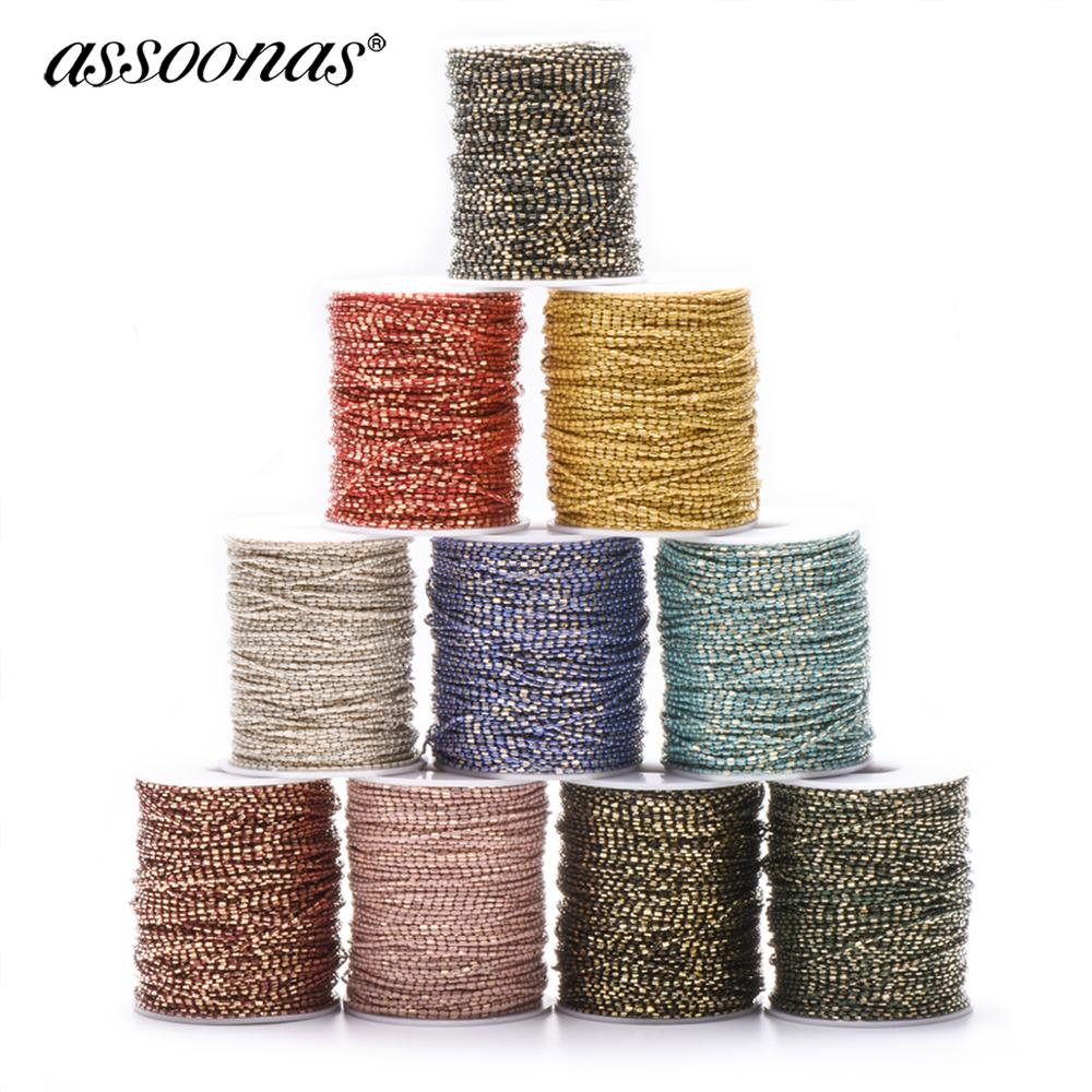 Assoonas C33,chain,jewelry Accessories,jewelry Making,hand Made,charm,jewelry Making,diy Earrings Pendant,diy Metal Chain,5m/lot