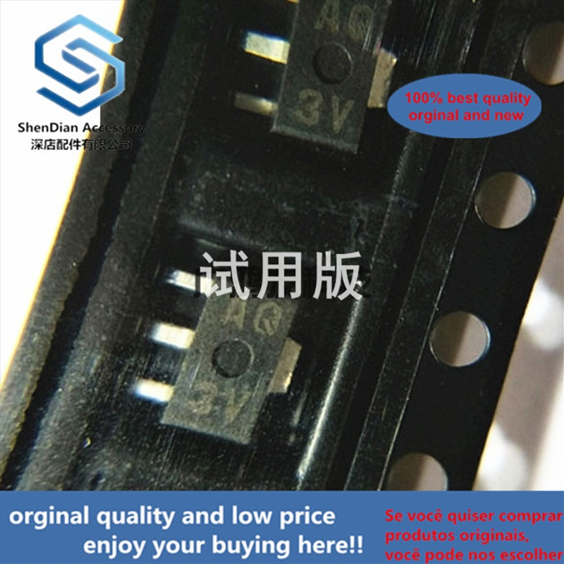 10pcs 100% Orginal New Best Qualtiy 2SB766-Q 2SB766 PNP Silk-screen AQ SOT-89 PNP Transistors In Stock