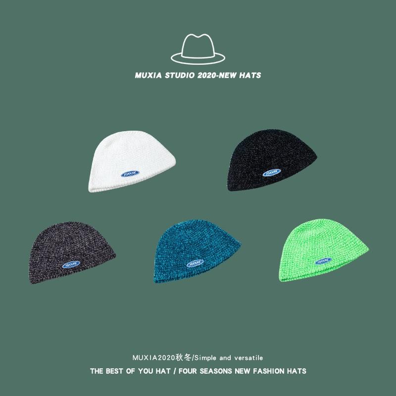 Купить корейская осенне зимняя сетчатая красная новая шапка ручной