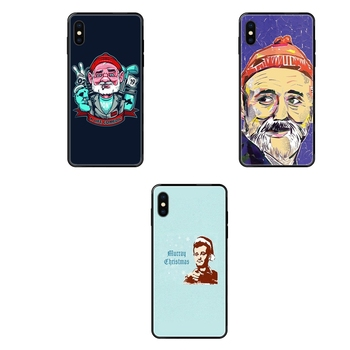 For Galaxy S5 S6 S7 S8 S9 S10 S10e S20 edge Lite Plus Ultra Unexpensive Famous Actor Bill Murray Black Soft TPU Cartoon Pattern image