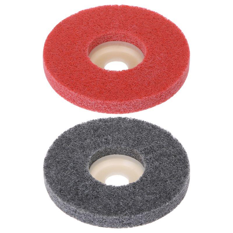 Outils abrasifs de disque de meulage de roue de polissage de Fiber de Nylon de 100mm pour la meuleuse d'angle.