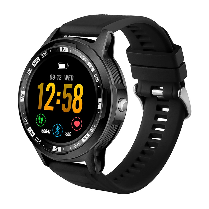 SKY3 Smart Watch IP67 Waterproof Fitness Activity Tracker Heart Rate Monitor Bluetooth Brim Sport Men Women Smart Clock