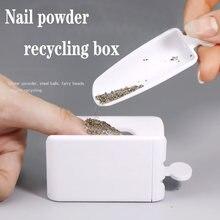 Пудра для ногтей коробка переработки ювелирных изделий волшебное