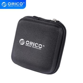 ORICO Headphone Case Bag Portable Earphone Earbuds Mini Earphone Bag Storage Case Bag for Memory Card USB Cable Organizer