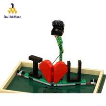 Buildmoc arkadaşlar prenses kale dostluk, sihirli kitap yapı taşı noel karikatür tuğla oyuncaklar kızlar için oyuncaklar çocuklar için