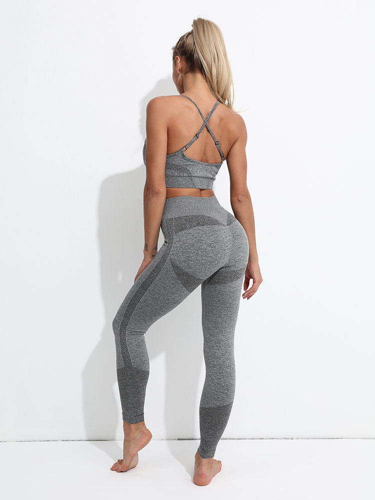 Seamless Leggings Women Fitness Yoga Set Ropa Deportiva Mujer Gym Clothing Track Suit High Waist Pants Sports Bras Workout Set