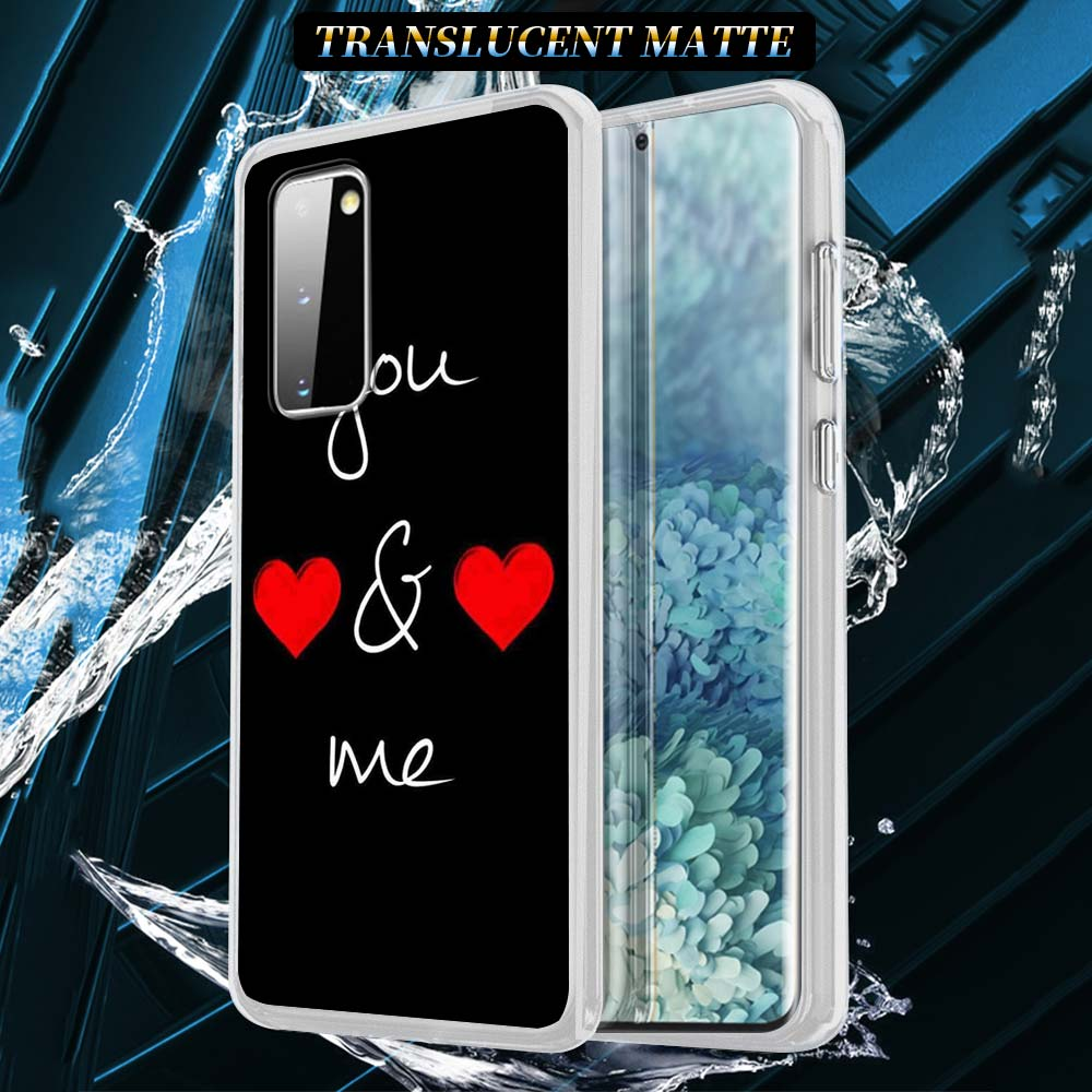 Heart Cartoon Cute Silicone Case For Samsung Galaxy S21 S20 FE S10 S8 S9 Plus Note 20 9 8 10 Lite Soft Cover Shell Capas