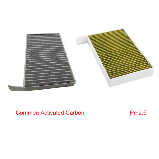 1PC Car Cabin Air Filter Replacement with Activated Carbon for Tesla Model 3 2017 2018 2019 Car Air Conditioning Filter PM 2.5 5