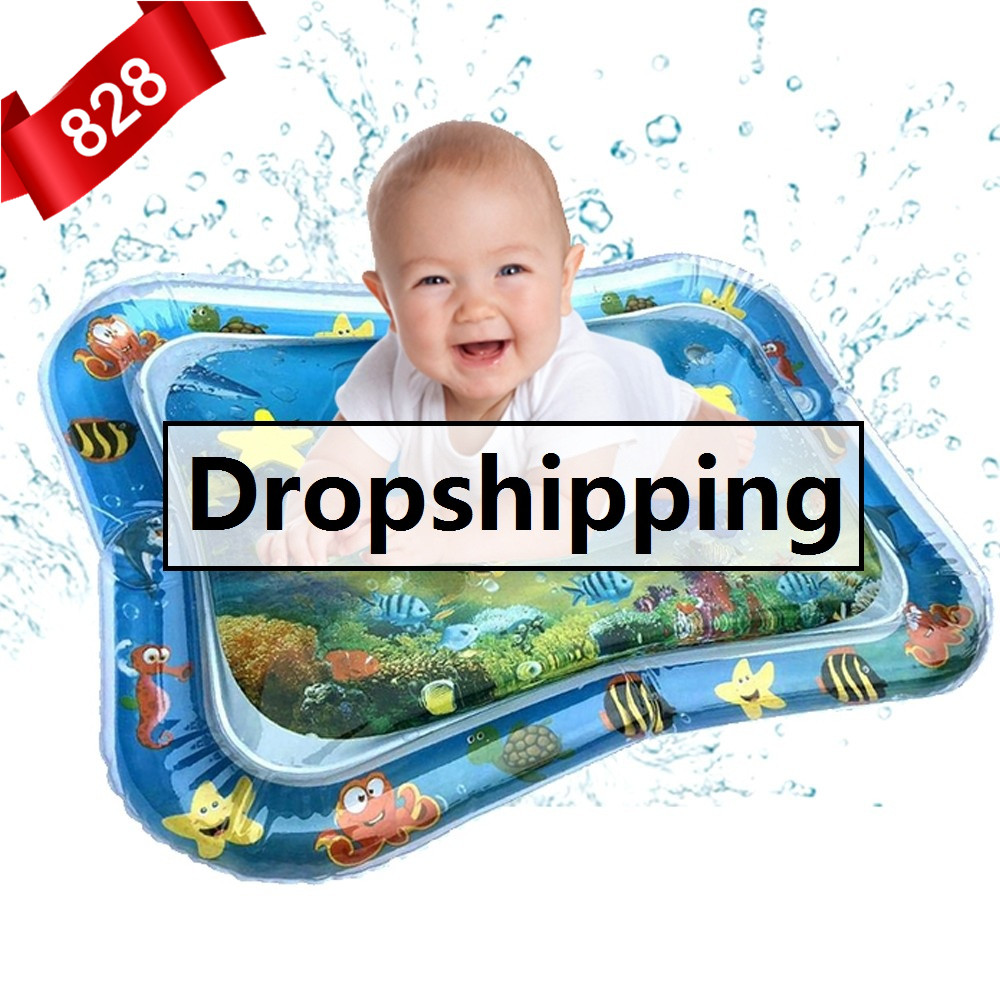 Water-Play-Mat Activity Tummy Time Toddler Baby Infant Inflatable Kids Hot For Fun Center-Dropship