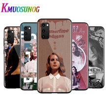 Modelo Sexy cantante Lana Del Rey para Samsung Galaxy A12 S20 FE Plus Ultra Nota 10 Lite A91 A71 A51 A42 A21S 5G caja Del teléfono