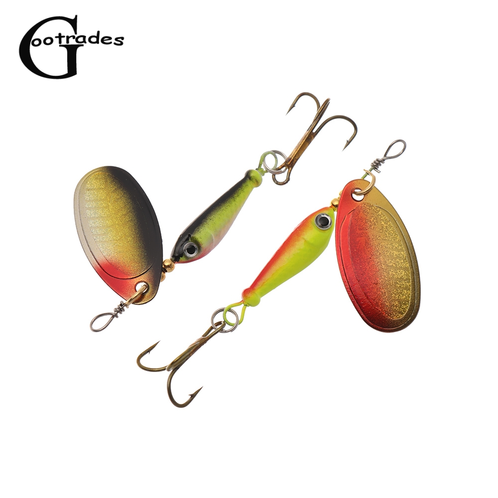 Fishing Lure Artificial Bait Metal Bionic Fishing Tackle sequins spinneNWCA