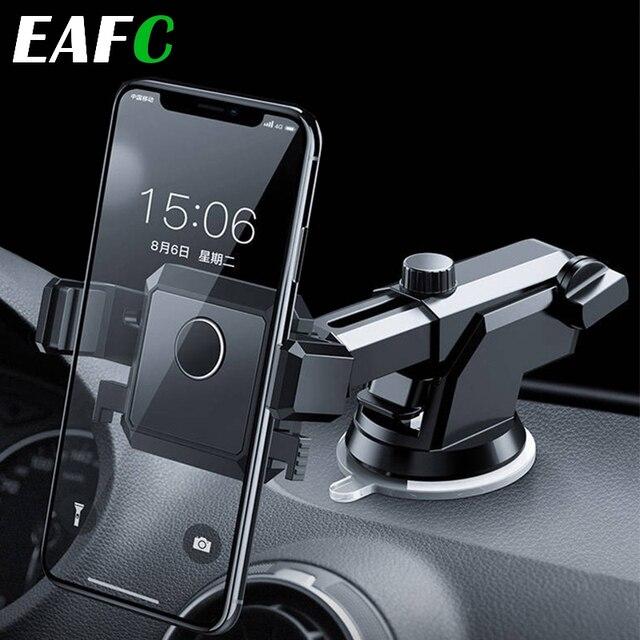 אוניברסלי רכב טלפון Stand אנכי שמשה קדמית הכבידה פרייר נשלף מתקפל וrotatable טלפון בעל
