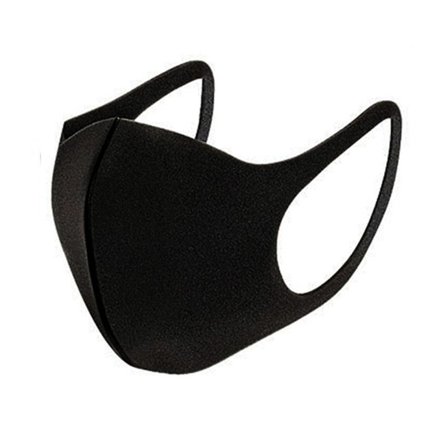 Unisex Black Mouth Masks Anti Dust Reusable PM2.5 Mask Dustproof Outdoor Travel Protection Mouth Cover Antivirus Flu Safety *
