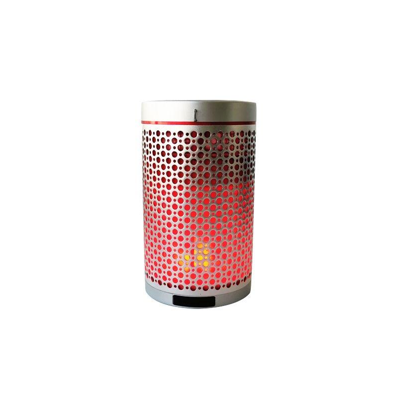 Bluetooth динамик портативный беспроводной динамик с пламенем свет лампы высококачественный Романтический динамик s