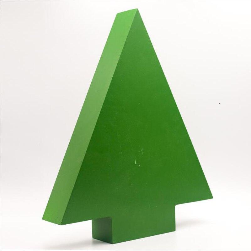 Новые рождественские украшения 2019 деревянный Рождественский обратный отсчет Календарь украшения для рождественской ёлки подарочные коробки украшения для дома - 5