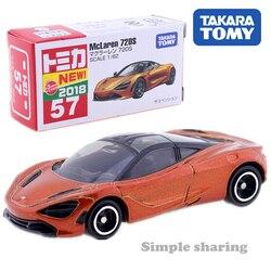 Takara Tomy Tomica No.57 McLaren 720S Sport Car 1/62 Kit Modelo de Diecast Hot Funny Kids Brinquedos Pop Bonecas Do Bebê magia Fantoches