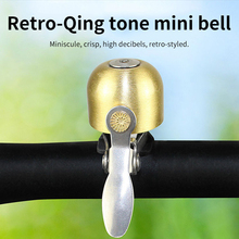 Timbre de bicicleta clásico, alarma de manillar de seguridad, timbre de sonido, bocina de carretera mtb, accesorios de ciclismo, cobre