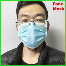 20Pcs/lot Face Mask 4 layer filter Non woven Disposable Elastic Mouth Soft Breathable Flu Hygiene Face with CE