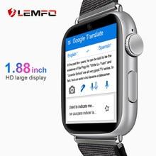 LEMFO-Reloj inteligente LEM10, dispositivo con Android 7.1, pantalla de 1.88