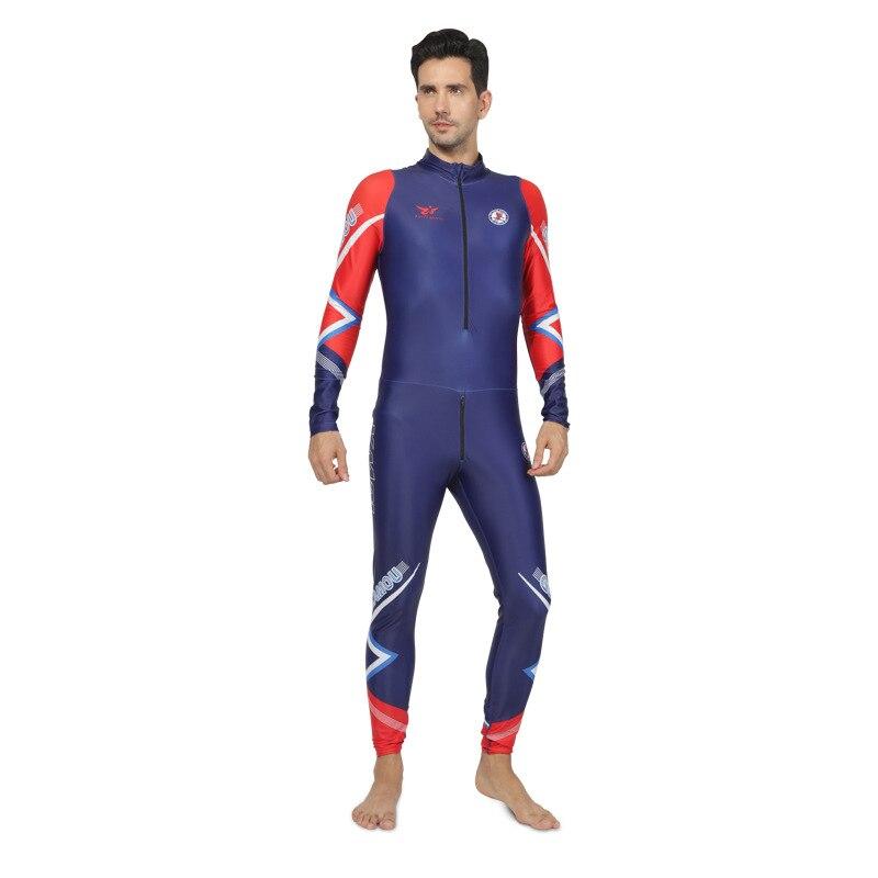 New One-piece Ski Suit Cool Custom Ski Suit