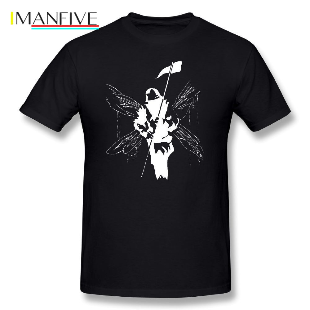 Linkin Park T Shirt Cartoon Print Linkin Park Hybrid Theory - Design Classic T-Shirt Plus Size Men Cotton Casual T Shirts