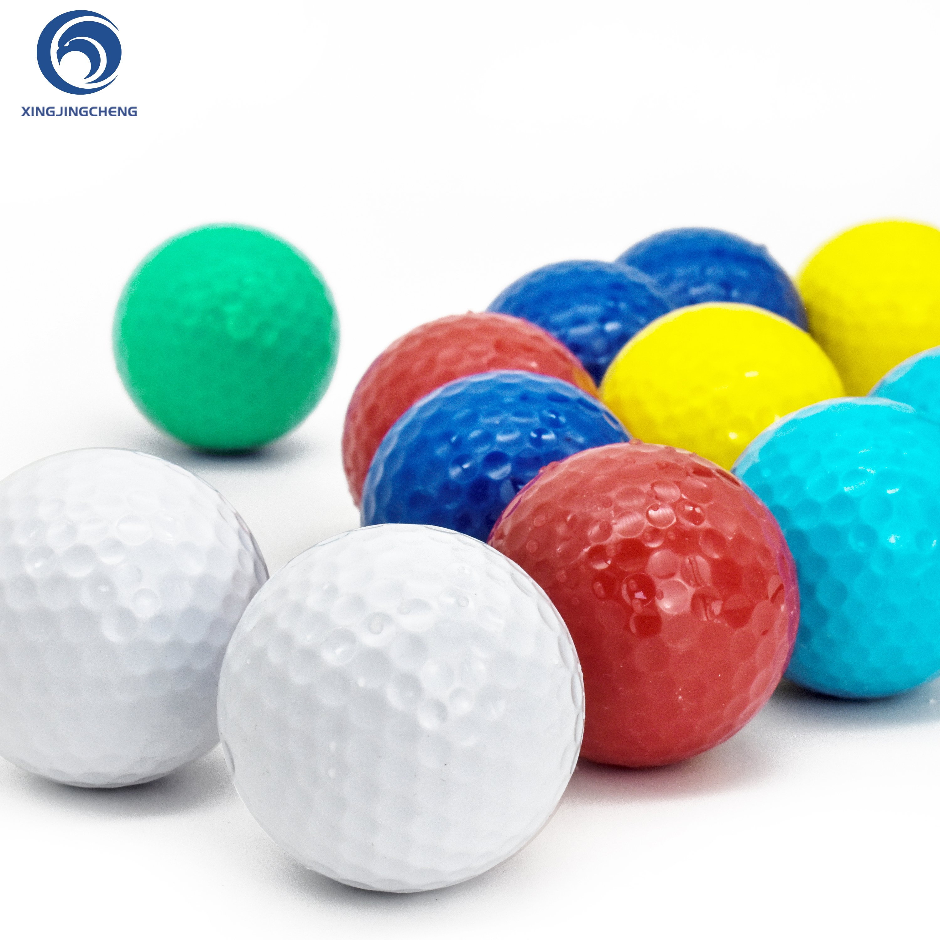 Golf Ball Practice Plastic Sports Home  Indoor And Outdoor Resistant Training Red Yellow Blue Green Golf Ball Golf Accessories