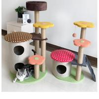 Cat Scratcher Tree for Cats Scratching Post Plush Cat Climbing Frame Toy Scratch for Cats Furniture Kitten Toy Pet Products