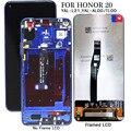 Дисплей для Honor 20 ЖК-дисплей с сенсорным экраном Replcement для Huawei Honor 20 YAL-L21 AL00 TL00 дисплей экран протестированный телефон LCDs