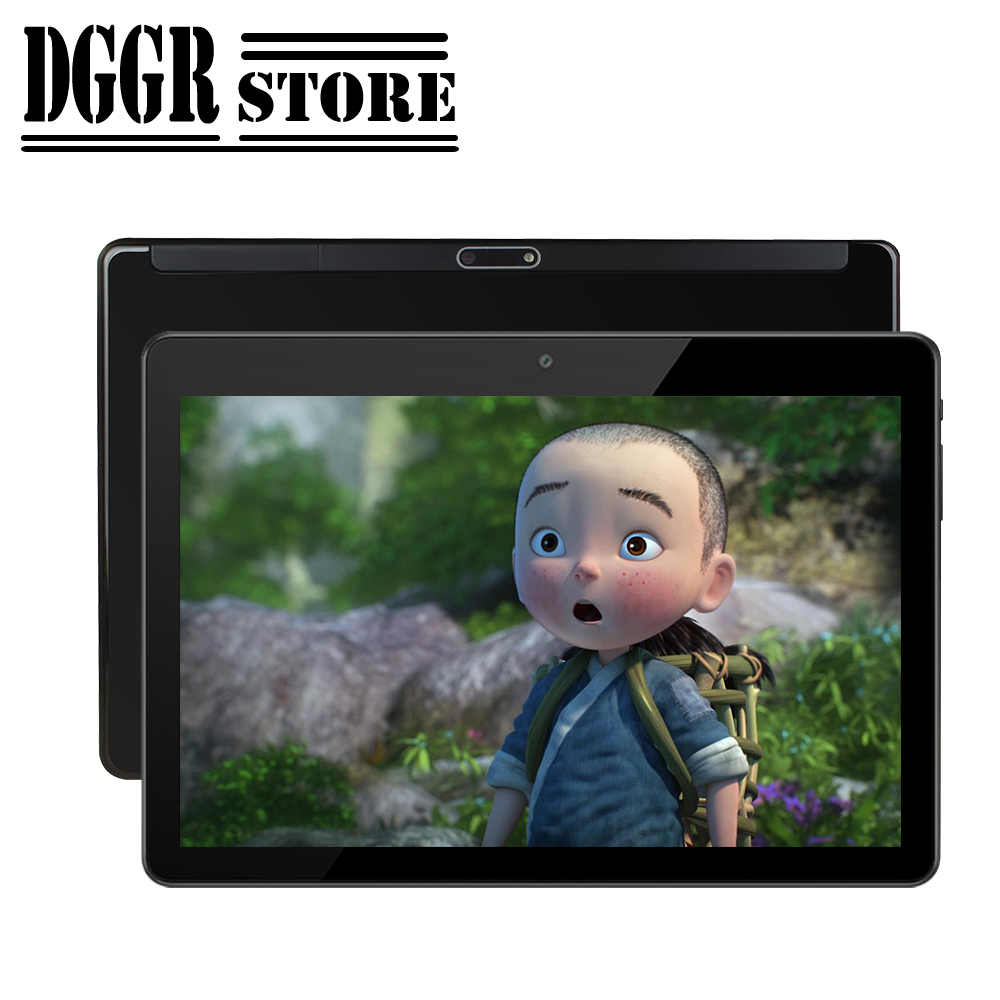 BOBARRY Tablet 10 Inch Sided Super Toughened Glass Screen IPS Android Tablet Supports Google Store 3G Phone SIM WiFi 32G 64G