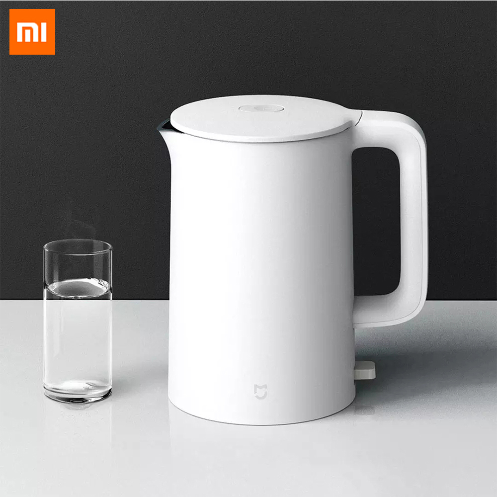 Xiaomi Mijia Electric Kettle 1A 1800W High Power Bottle Kitchen Appliances Water Kettle 1.5L Capacity Thermal Insulation Teapot