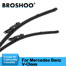 luftfederung luftfeder for mercedes vito viano w639 w638 6383280701rear air spring suspension shock a6383280601 l r pair BROSHOO Car Windshield Wiper Blade Natural Rubber For Mercedes Benz V Class Vito Viano W639 W447 Auto Accessories 2006 To 2017