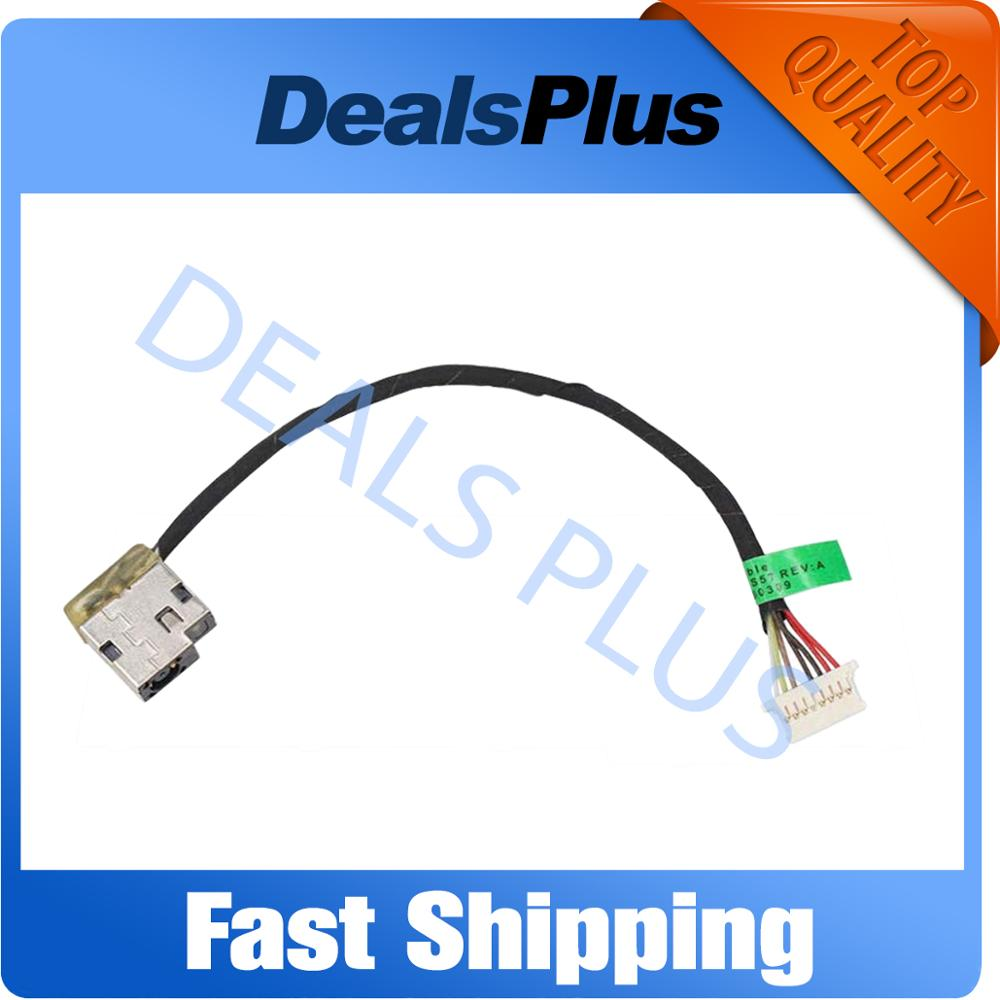 New DC Power Jack With Cable Socket For HP 15-A M16-P 15-AC M6-P113DX 799736-F57 799736-S57 799736-Y57 799749-Y17 799736-T57