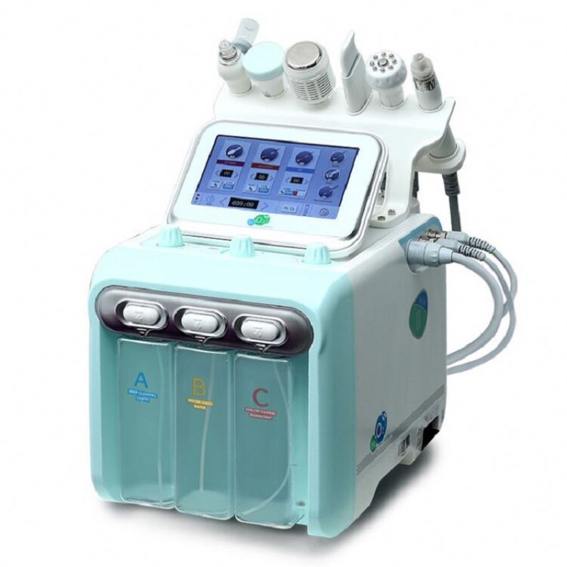 2020 Second generation Newface Hydrafacials Machine Multifunctional Skin Care Equipment 6 In 1 Oxygen Facial Machine image