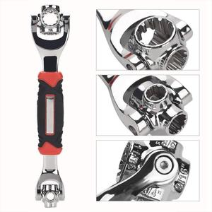 Image 2 - Clé dynamométrique universelle tigre, clé tigre en 1 clé dynamométrique universelle 12 dents douille de la clé magnétique