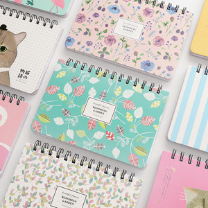 Cute Notebook Portable 2020 2021 Agenda A6 Diary Journal Weekly Monthly Planner School Supplies Stationary Organizer Schedule
