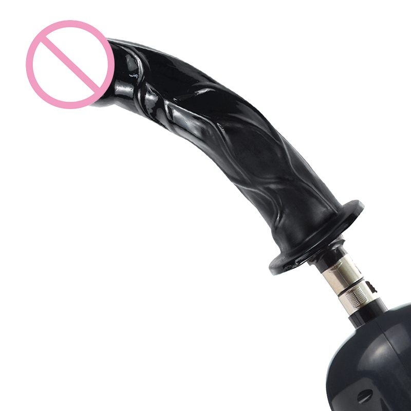 iKenmu Black <font><b>Big</b></font> <font><b>Dildo</b></font> <font><b>Sex</b></font> Machine Attachment Soft Penis <font><b>Sex</b></font> Toys For Women Man <font><b>sex</b></font> machine <font><b>dildo</b></font> attachments image
