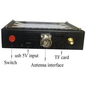 "Image 5 - TZT 2020 ใหม่ Mini1300 HF/VHF/UHF เครื่องวิเคราะห์เสาอากาศ 0.1 1300MHz 4.3 ""TFT LCD หน้าจอสัมผัสเปลือกอลูมิเนียม"