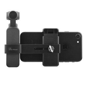 Image 5 - Dji osmoポケット2カメラ電話マウントクリップハンドヘルドジン電話用dji osmoポケットアクセサリー