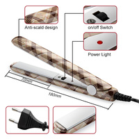 2020 New Electronic Ceramic Fast Hair Straightener Portable Mini Hair Flat Iron Wet/Dryer Straightening Irons Professional 5