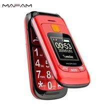 Flip Double Dual Display Senior Mobile Phone SOS Fast Call Touch Screen Handwrit