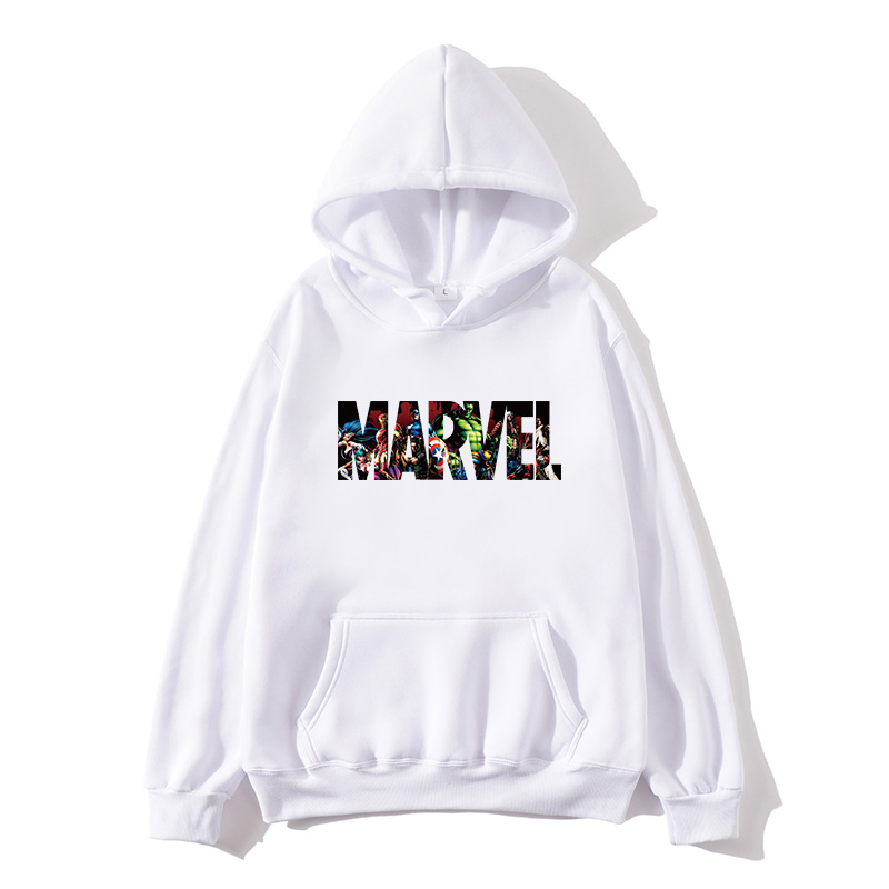 2019 New Brand Marvel Hoodie Men's High Quality Long Sleeve Casual Ladies Men's Sweatshirt Hoodie Miracle Print Hoodie Sp