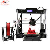 Offre spéciale compétitive Anet A6 A8 3D imprimante Reprap Prusa i3 haute précision bricolage 3D imprimante Kit avec Micro carte SD connecteur USB