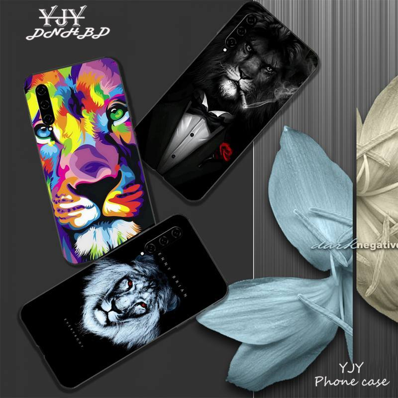 YJY <font><b>Lion</b></font> Alpha Male Lovely Mobile Phone Cover <font><b>Case</b></font> For <font><b>Xiaomi</b></font> <font><b>Mi</b></font> <font><b>A1</b></font> A2 6 8 9 T Pro 10 Lite Note 3 Mix 2 2s MAX 2 3 Coque image