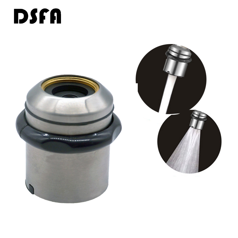 Two Modes Faucet Nozzle Aerator Bubbler Sprayer Stainless Steel Shell Water-saving Tap Filter Head Nozzle Tap Connector